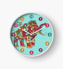 Mammoth, from the AlphaPod collection Clock