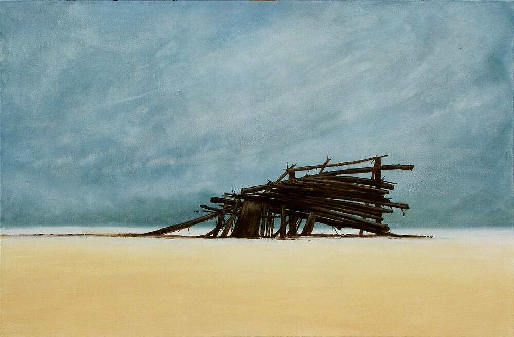 Beach House by Jan Cillers de Wet