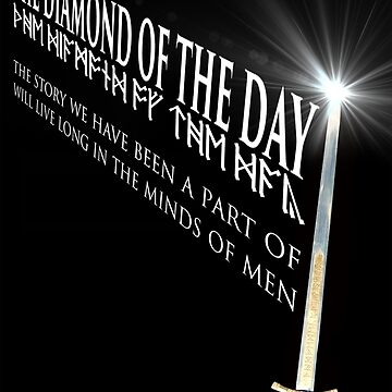 The Diamond of the Day Merlin Mock Movie Poster by Dollop-Merlin