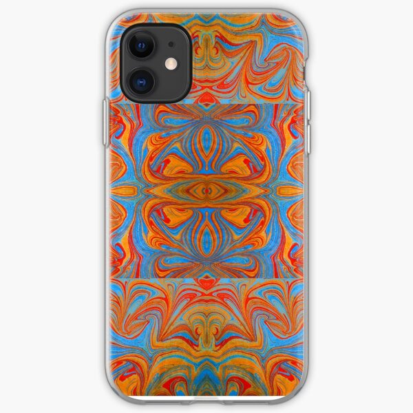 Marbled Checkers iPhone Soft Case