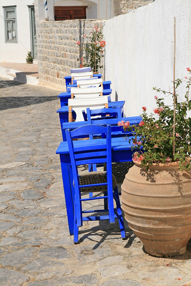 Hydra Restaurant, Greece by DRWilliams