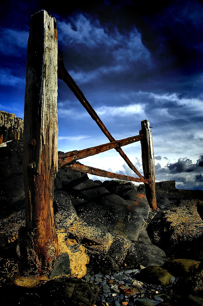 Forgotten Pier by Mark White
