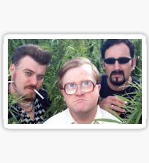 Ricky Julian and bubbles trailer park boys Sticker