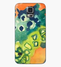 Lively Abstract Watercolor Design Case/Skin for Samsung Galaxy