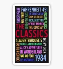 Literary Classics Sticker