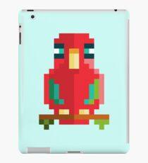 Scarlet Macaw Pixel Art iPad Case/Skin