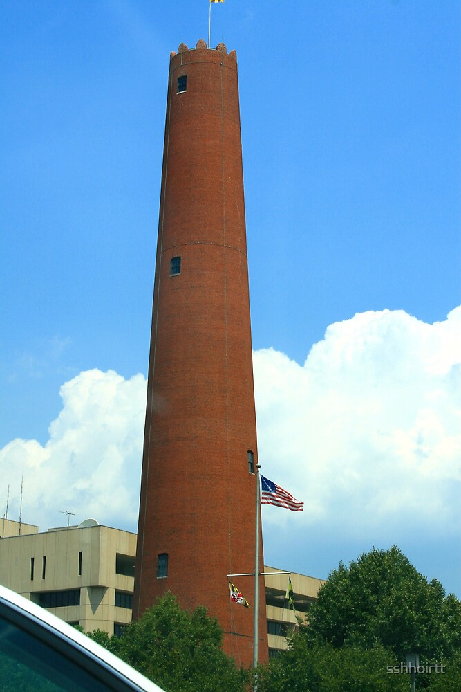 The Shot Tower, Baltimore Maryland by sshhoirtt