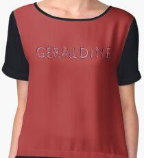 Geraldine Women's Chiffon Top