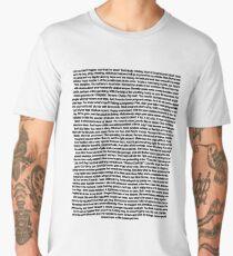 Cool Girl monologue Men's Premium T-Shirt