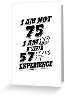 Funny 75th Birthday Gag Gift 75 Year Old Humor By SpecialtyGifts