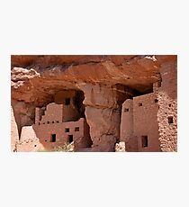 Manitou Cliff Dwellings Study 11  Photographic Print
