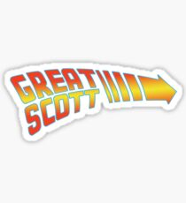 Great Scott Sticker