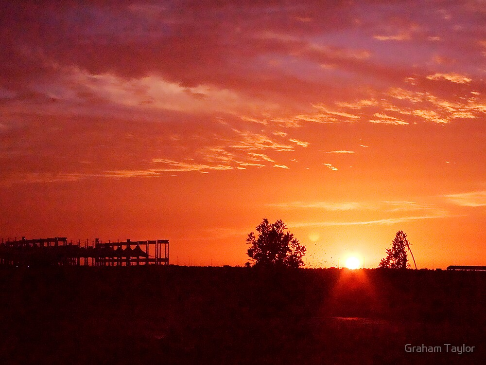 Jeddah Sunset by Graham Taylor