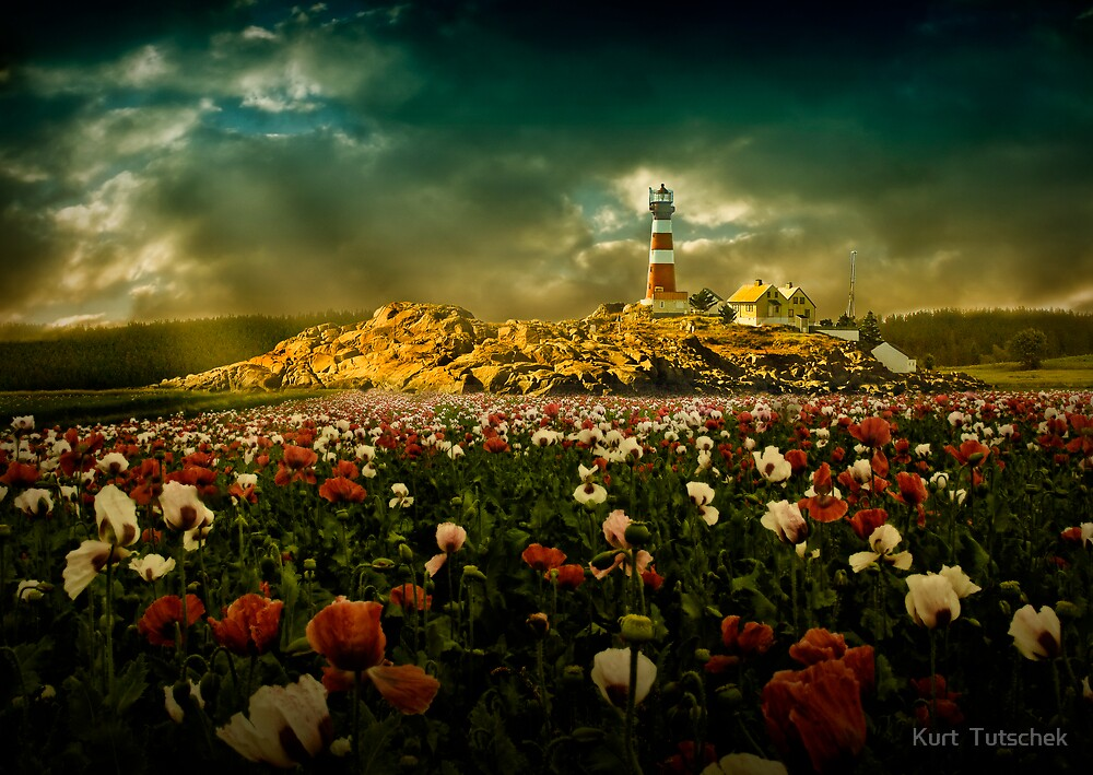 Imaginary landscapes 1 by Kurt  Tutschek