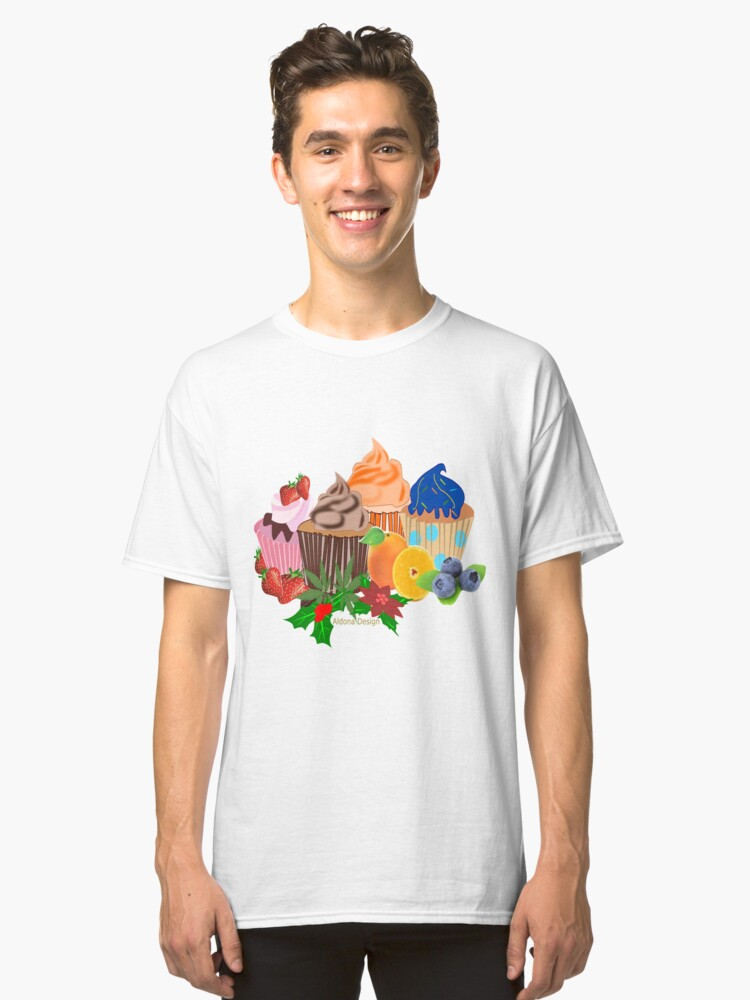 Cup Cake Variety 2018 (4761 Views) Classic T-Shirt Front
