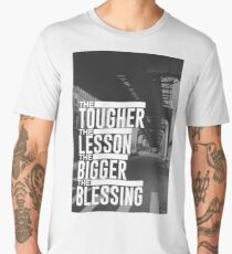 Tough Lesson Big Blessing Men's Premium T-Shirt
