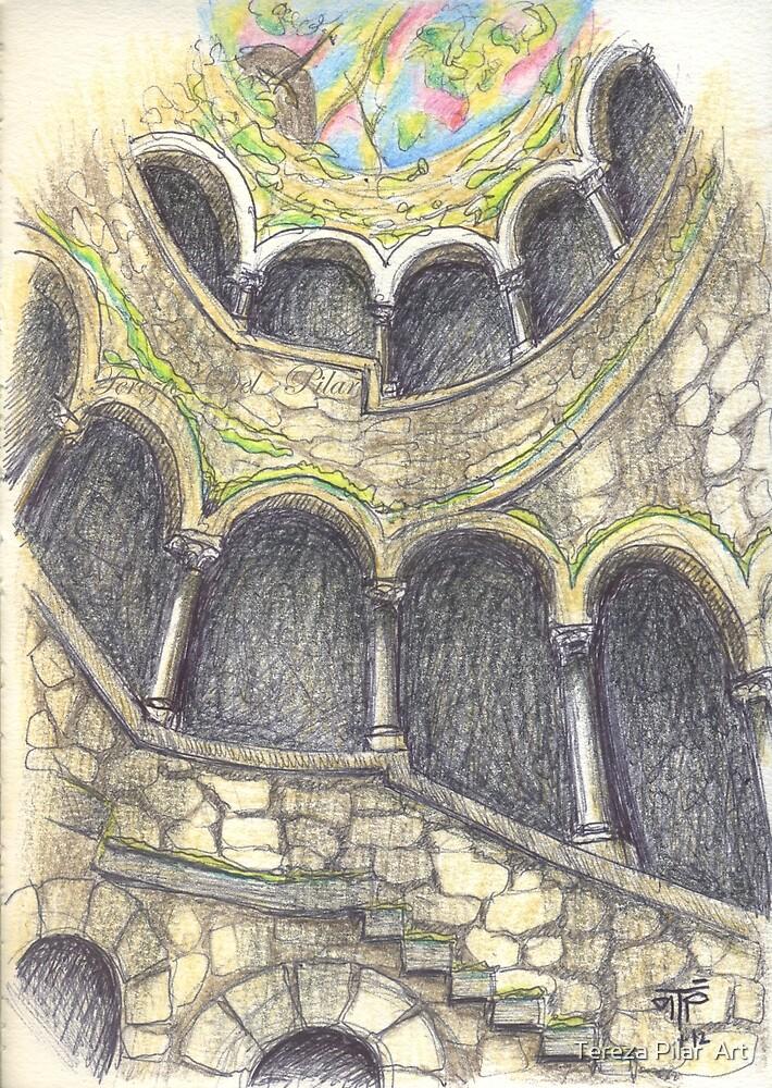 Quinta da Regaleira. Poço iniciático. Initiatic well by terezadelpilar ~ art & architecture