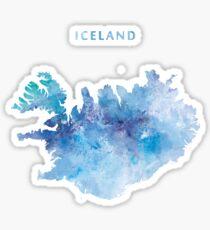 Pegatina Islandia