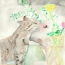 Stop to smell the flowers by Mollie Taylor
