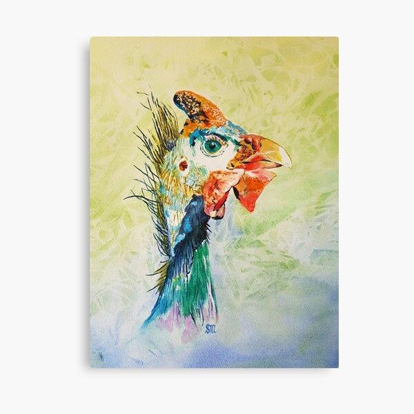 Steve Guinea Fowl Canvas Print