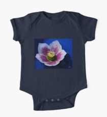 Hellebore Flower Head One Piece - Short Sleeve