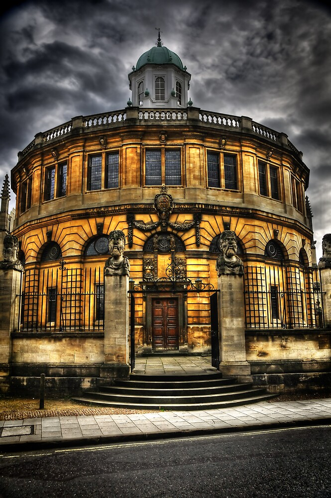 Sheldonian Theatre - Oxford by DocG