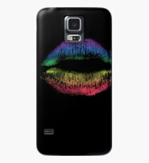 Rainbow Pride Kiss // LGBT Gay Rights Flag Lips Case/Skin for Samsung Galaxy