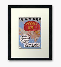 Life is strange before the storm drugs 2 Framed Print