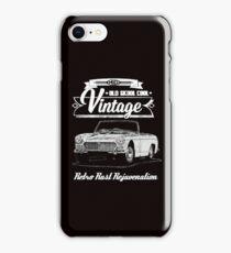 Mg Retro rust iPhone Case/Skin