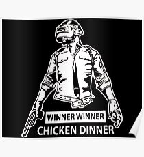 PUBG - Winner winner chicken dinner Poster