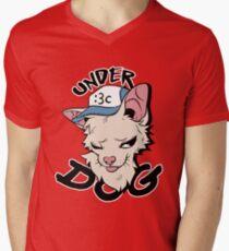 UNDER DOG Men's V-Neck T-Shirt