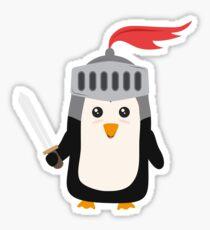 Cutest Penguin Knight R1dw8 Sticker