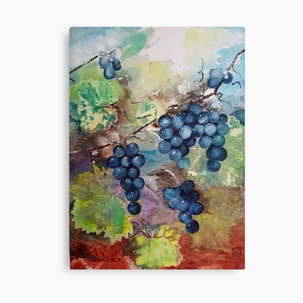 Grapes in Season Canvas Print