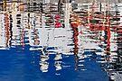 Marina Abstract 3 by Alex Preiss