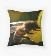 absorbed  Throw Pillow