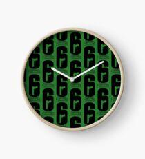 Siege R6S T-Shirts Clock
