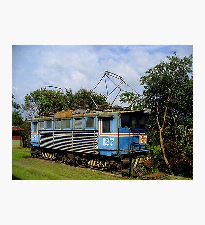 Locomotive in Costa Rica Photographic Print