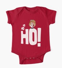 Ho Ho Ho Santa One Piece - Short Sleeve