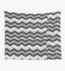 Beautiful Cushions/Chevron/ Grey and White Wall Tapestry