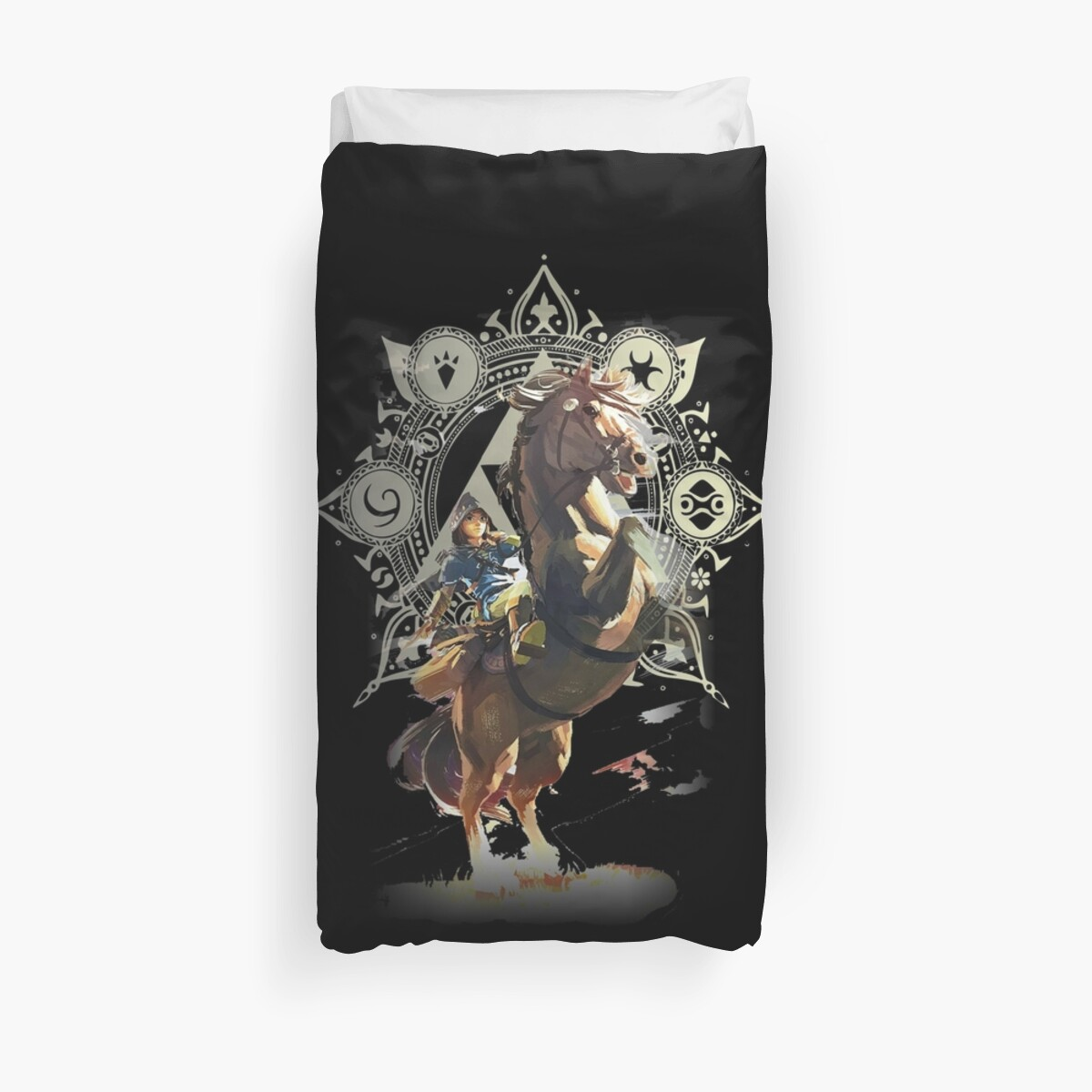 """""""the Legend Of Zelda Breath Of The Wild"""" Duvet Covers By"""