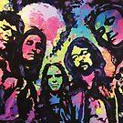 "Genesis Fanart ""The Fab Five"" Painting by Frank Grabowski von Frank Grabowski"
