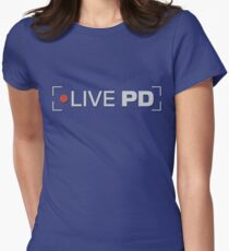 live pd Women's Fitted T-Shirt