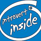 Introvert Inside (white) by IntrovertInside