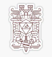 Whimsical RPG Sticker