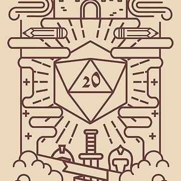 Whimsical RPG by artlahdesigns