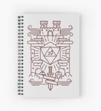 Whimsical RPG Spiral Notebook