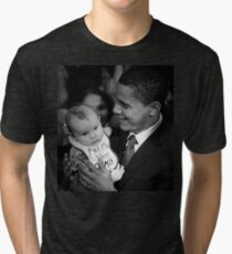 Obama Mama Tri-blend T-Shirt