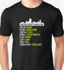 Boston Accent Translator Bostonian to English Black T-Shirt