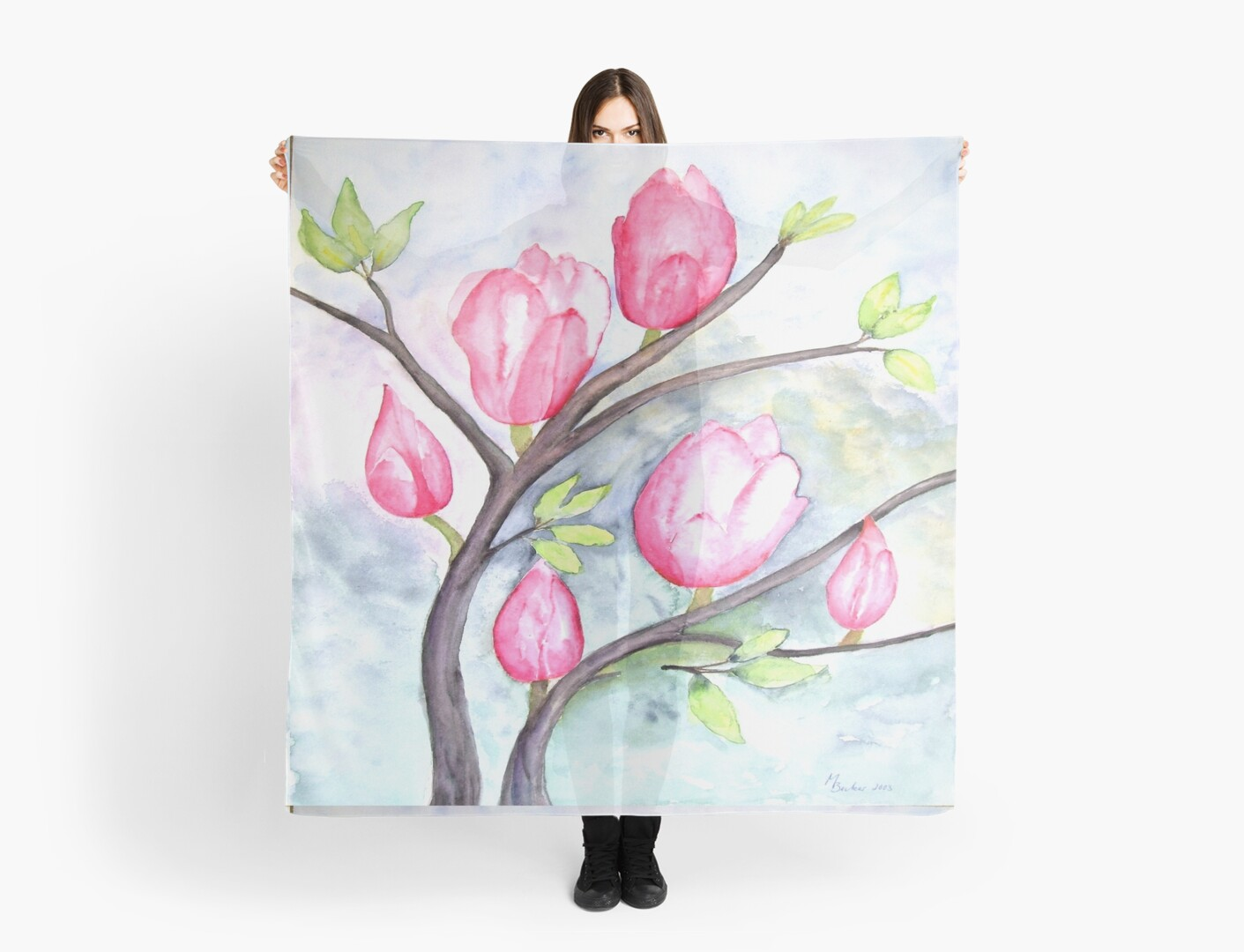 Pretty Pink Magnolias by ThatsMyStyle