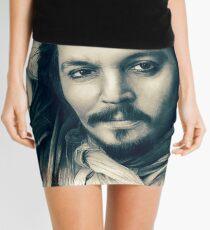Johnny Depp drawing Mini Skirt